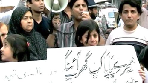 Karachi: Family of abducted captain seek help from public