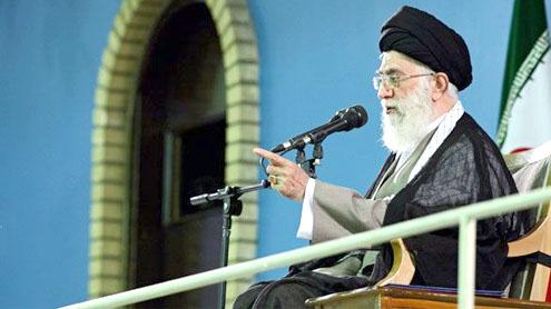 Khamenei's warning seen as rebuke to Ahmadinejad