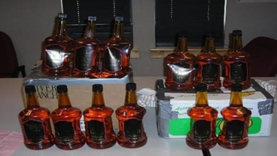 Launch with huge quantity of liquor captured