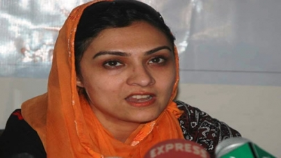 Marvi Memon injured in a car accident on M-way