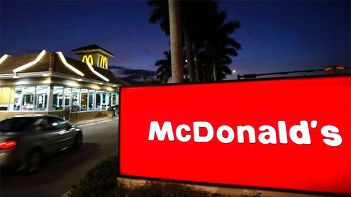 McDonald's to hire 50,000 as business improves