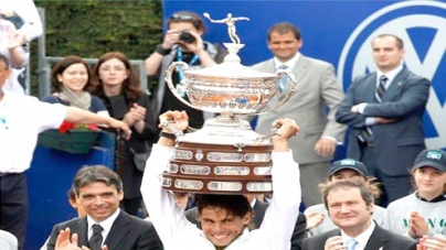 Nadal floors Ferrer to win sixth Barcelona Open