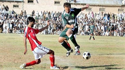 NBP football cup:PAF beat HBL 3-0