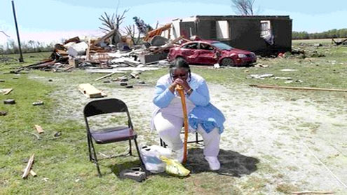 NC gets worst of storms that ravaged south of US