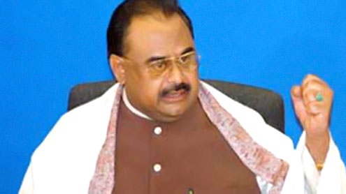 None can stop revolution in Pakistan: Altaf Hussain