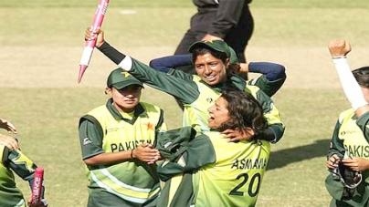 Pak women cricket team named
