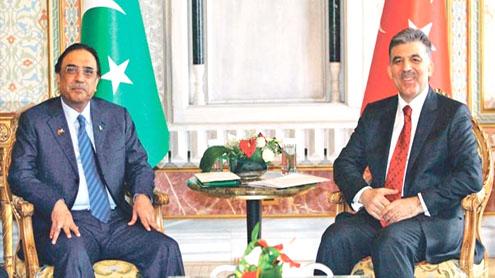 Pakistan admires Turkey's democratic consolidation, economic achievements: Zardari