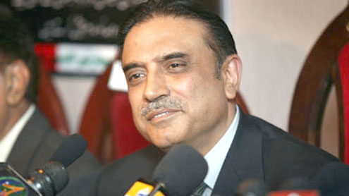 President Zardari pledges full support to Turkish investors in setting up banks, energy projects