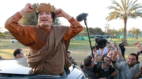 Qaddafi 'accepts peace roadmap': Zuma