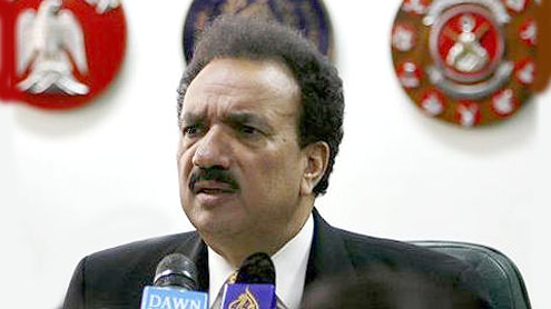 Rehman Malik leaves for Iran as special envoy of President Zardari