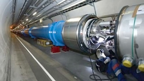 """Scientists talk over controversial detection of """"God Particle"""""""