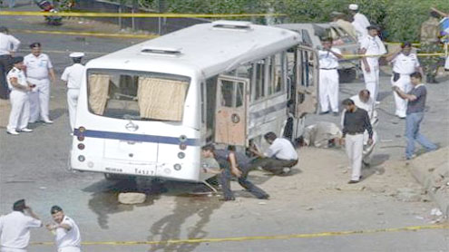 Series of bomb attacks on PN buses puzzles law enforcement agencies