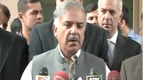 Shahbaz announces model farms for Cholistan