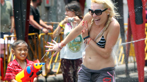 Songkran festival: celebrating new year in Thailand and Myanmar with water fights