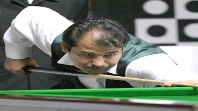 Top-seed Sajjad ousted from Asian Snooker Championship