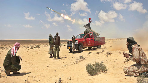 US extends airstrike role in Libya through Monday