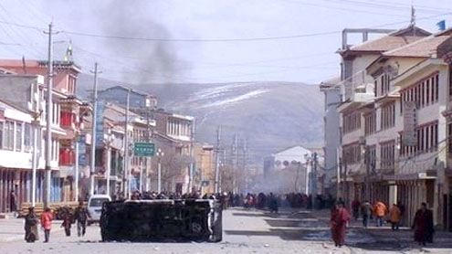 US frowns on Chinese force in Tibet