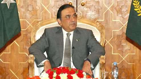 Zardari urges envoys to pursue country's economic interests abroad