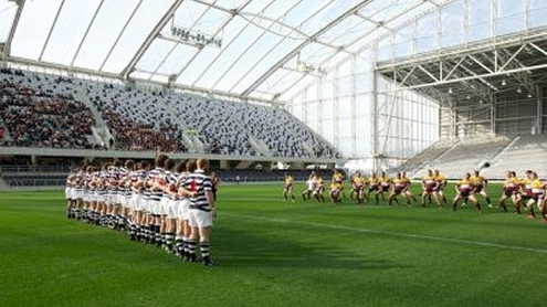 New Rugby World Cup stadium changes the way fans watch and experience
