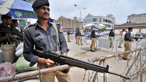 Ambush kills three policemen in Karachi: officials