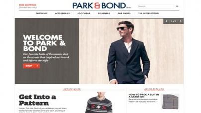 Gilt launches men's site Park & Bound