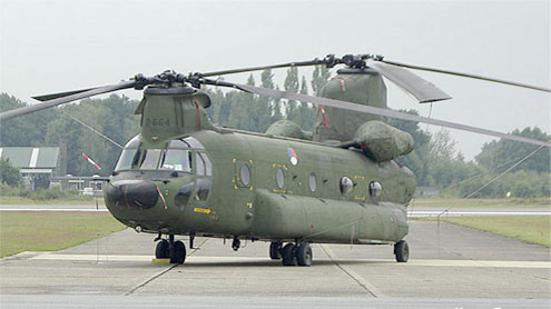 Government orders 14 Chinook helicopters