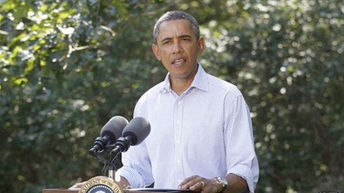 Hurricane Irene: Obama warns of 'historic' storm