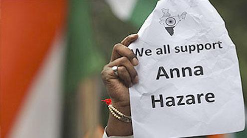 Indian anti-graft activist refuses to leave jail