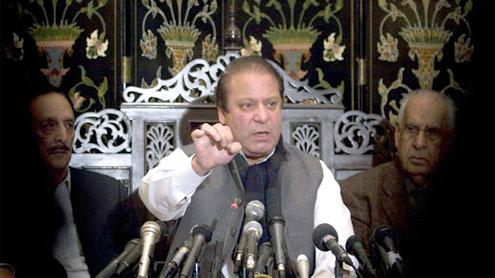 Nawaz questions credibility of present democrac