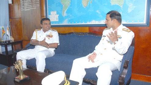 PN Ship SHAMSHEER, PN Ship NASR arrives in Colombo