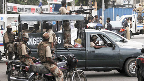 Police, Rangers mount search operation