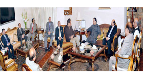 President chairs meeting on Karachi situation; no criminal to be spared