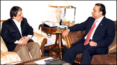 President, Governor Sindh discuss law and order situation in Karachi