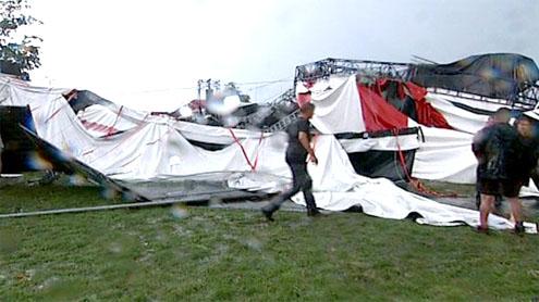 Storm Hits Pukkelpop Festival in Belgium