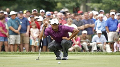 Tiger Woods starts well on return in WGC Invitational