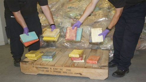 UK police seize record £300mn cocaine haul