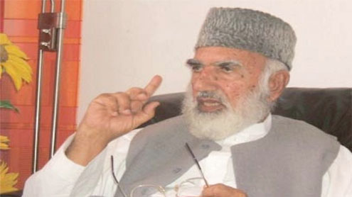 Veteran politician plans jirga for peace on Pakhtun land
