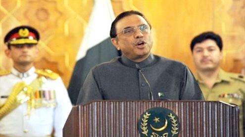 Zardari calls meeting on loadshedding