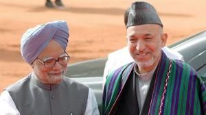 Afghan President Karzai visit India