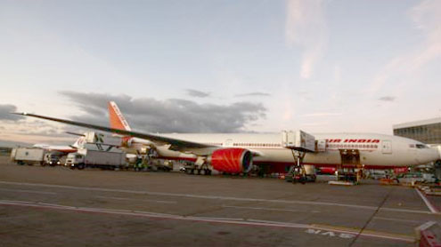 Gatwick Airport: Air India passengers stranded on plane