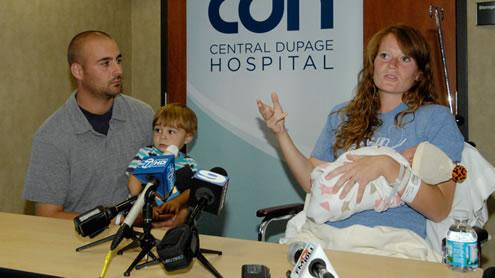 Woman gives birth after running Chicago Marathon