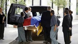 Body of Former Venezuela President