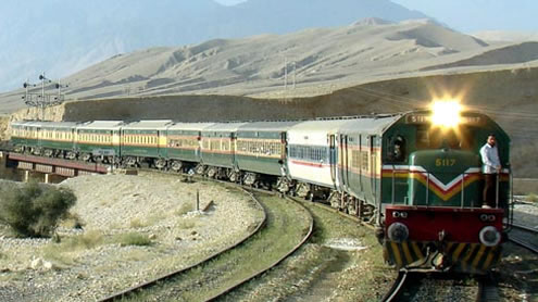Business Train lahore to pakistan