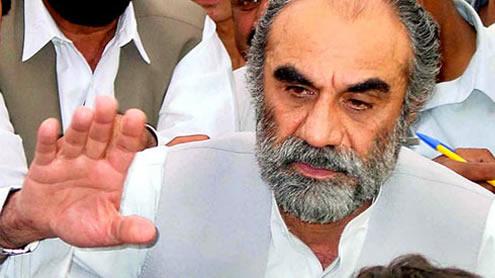 Chief Minister Balochistan Nawab Aslam Raisani