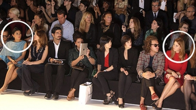 Clash of the front-row Princesses at Paris Fashion Week
