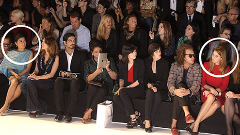Clash of the front-row Princesses at Paris Fashion Week