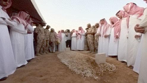 Farewell to Saudi Prince
