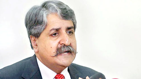 Federal Minister for Water and Power Syed Naveed Qamar