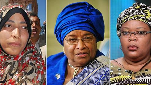 Female trio wins Nobel Peace Prize