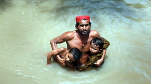 Flood affectees of Sindh